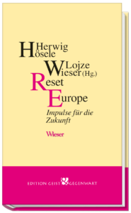 Resxet Europe – Das Buch zum Pfingstdialog 2021